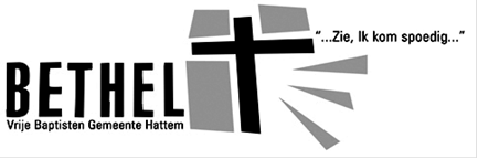 Vrije Baptistengemeente Bethel Hattem